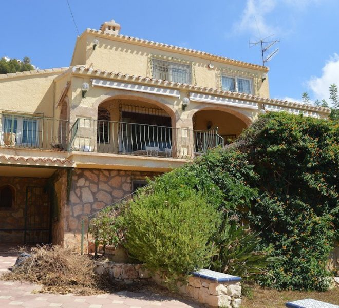 5 Bed 3 Bath Villa For Sale in Javea | Javea Guide ref JV489 01